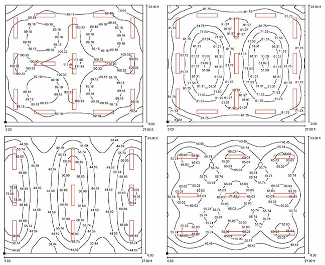 Light Fixture Layout Collections