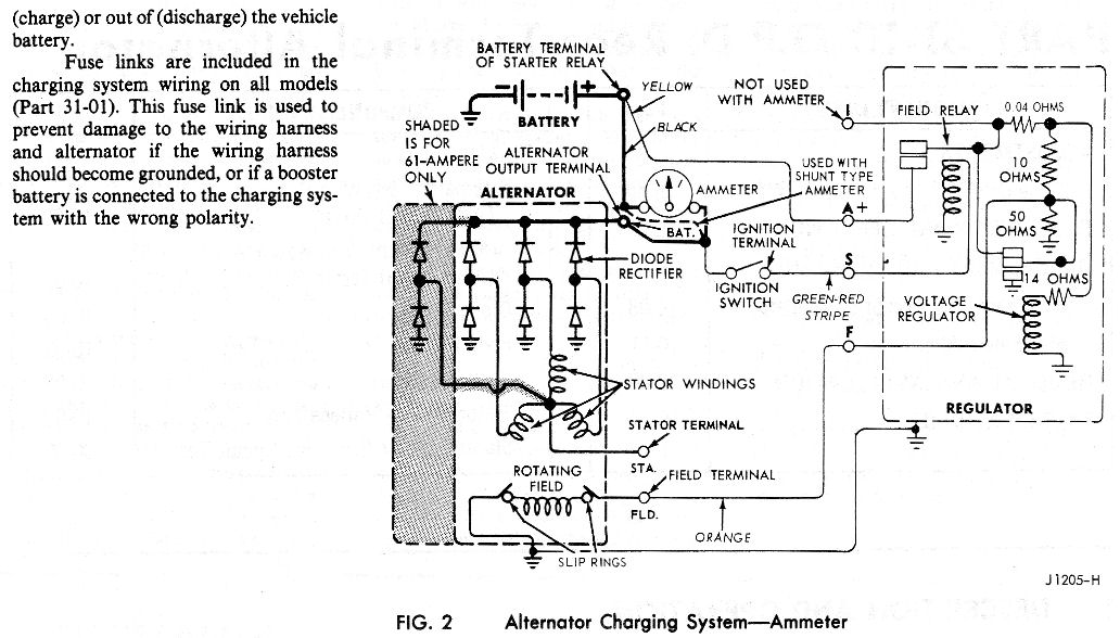 73 Voltage Regulator Wiring